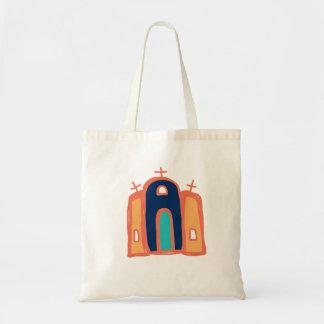 Bolso De Tela arte católico de Santa Fe del arte de /mission de