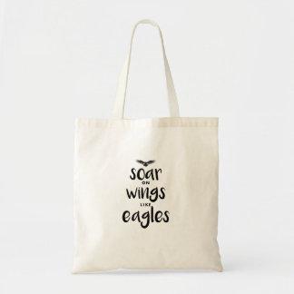Bolso De Tela arte de la tipografía del águila