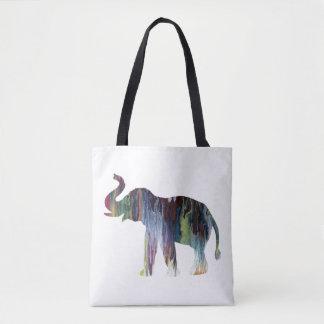 Bolso De Tela Arte del elefante