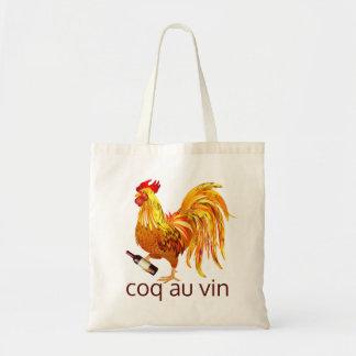 Bolso De Tela Au Vin de Coq