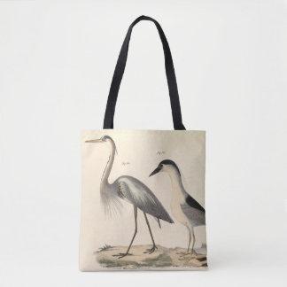 Bolso De Tela Aves acuáticas