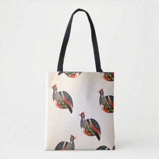 Bolso De Tela aves de Guinea 35