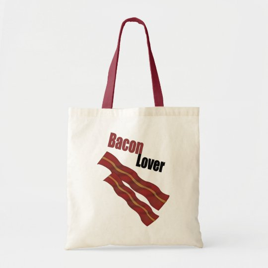 Bolso De Tela Bacon Lover