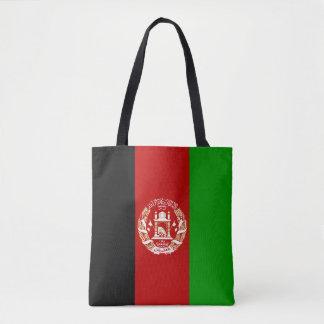 Bolso De Tela Bandera afgana patriótica