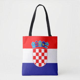 Bolso De Tela Bandera croata patriótica