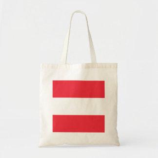 Bolso De Tela Bandera de Austria