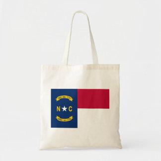 Bolso De Tela Bandera de Carolina del Norte