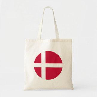 Bolso De Tela Bandera de Dinamarca