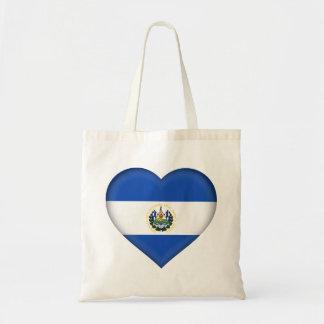 Bolso De Tela Bandera de El Salvador