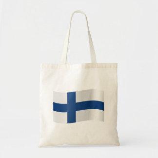 Bolso De Tela Bandera de Finlandia