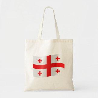 Bolso De Tela Bandera de Georgia