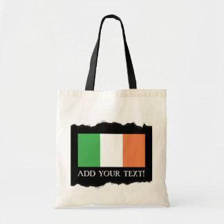 Bolso De Tela Bandera de Irlanda