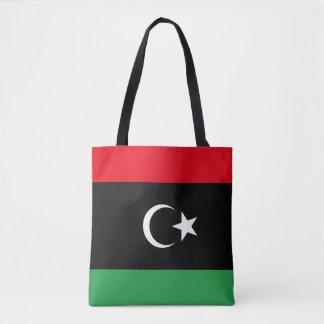 Bolso De Tela Bandera de Libia