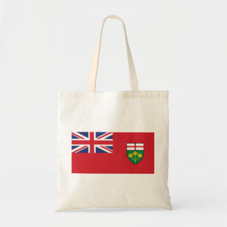 Bolso De Tela Bandera de Ontario