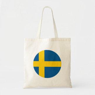 Bolso De Tela Bandera de Suecia