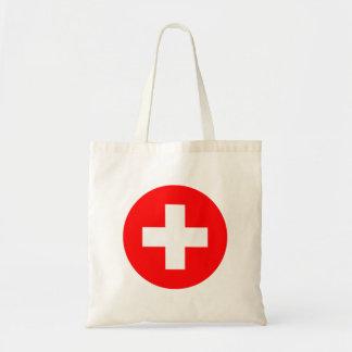 Bolso De Tela Bandera de Suiza