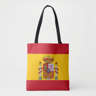 Bolso De Tela Bandera española