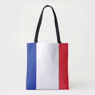 Bolso De Tela Bandera francesa patriótica