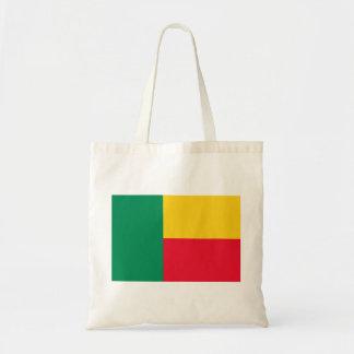 Bolso De Tela Bandera nacional del mundo de Benin