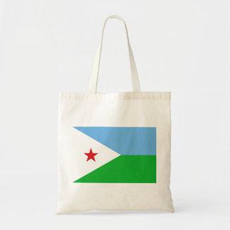 Bolso De Tela Bandera nacional del mundo de Djibouti