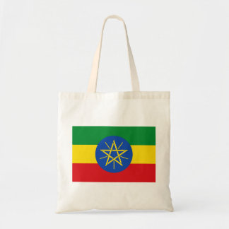 Bolso De Tela Bandera nacional del mundo de Etiopía