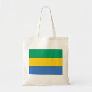 Bolso De Tela Bandera nacional del mundo de Gabón