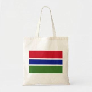 Bolso De Tela Bandera nacional del mundo de Gambia