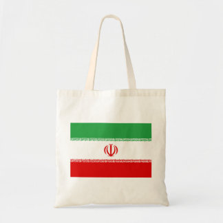 Bolso De Tela Bandera nacional del mundo de Irán