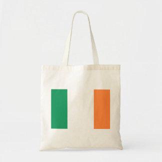 Bolso De Tela Bandera nacional del mundo de Irlanda
