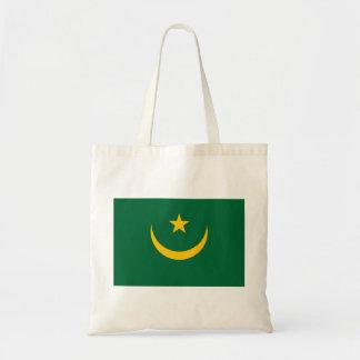 Bolso De Tela Bandera nacional del mundo de Mauritania
