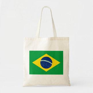 Bolso De Tela Bandera nacional del mundo del Brasil