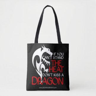 Bolso De Tela Bese un tote del dragón