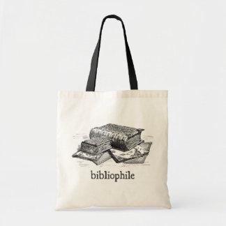 Bolso De Tela Bibliófilo