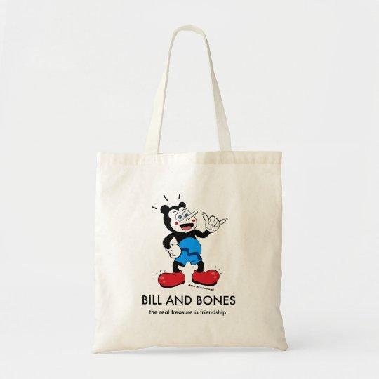 Bolso De Tela Bill and Bones