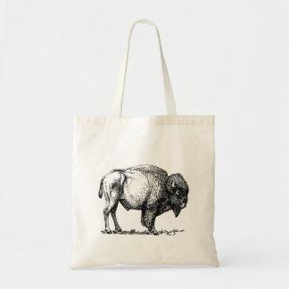 Bolso De Tela Bisonte americano del búfalo