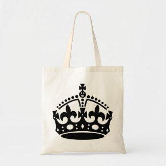 Bolso De Tela blackcrown