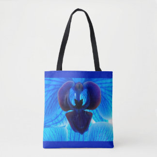 Bolso De Tela Blue Orchid Tragetasche