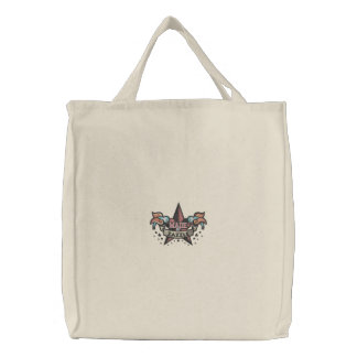Bolso De Tela Bordado Hecho por Zazzle