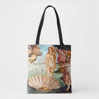 Bolso De Tela Botticelli hermoso Venus restaurado y Recolored