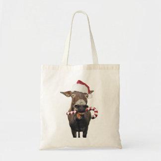 Bolso De Tela Burro del navidad - burro de santa - burro santa