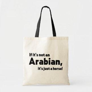 Bolso De Tela Caballo árabe