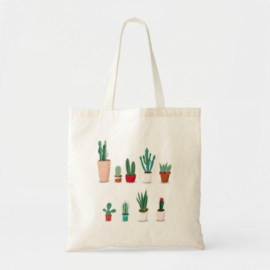 Bolso De Tela Cactus