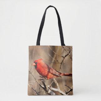 Bolso De Tela Cardinal
