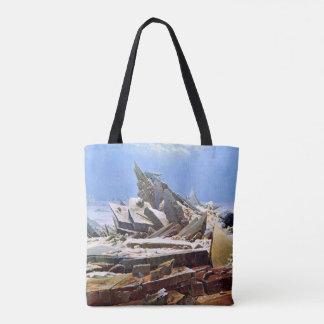 Bolso De Tela CASPAR DAVID FRIEDRICH - el mar del hielo 1824