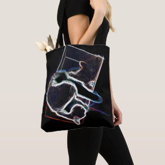 Bolso De Tela Cat en box: