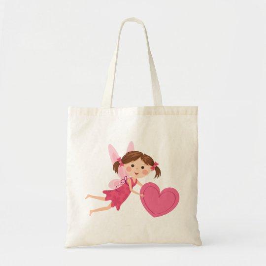 Bolso De Tela Chica de hadas del pequeño dibujo animado lindo co