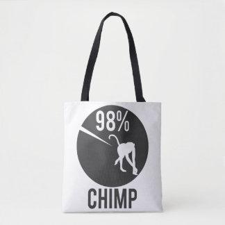 Bolso De Tela chimpancé del 98%