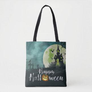 Bolso De Tela Cielo nocturno fantasmagórico Halloween del traje