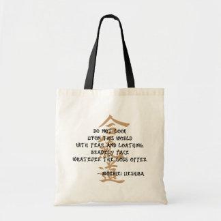 Bolso De Tela Cita del Aikido