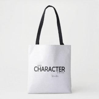 Bolso De Tela CITAS: Heraclitus: El carácter del hombre